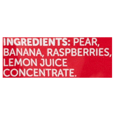 Beech-Nut Fruities Pear, Banana & Raspberries