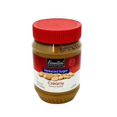 Essential Everyday Creamy Peanut Butter Reduced Sugar