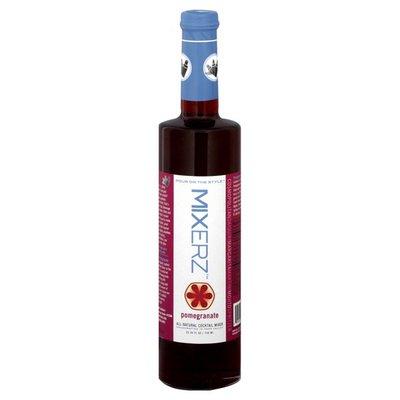 Mixerz All-Natural Cocktail Mixer, Pomegranate