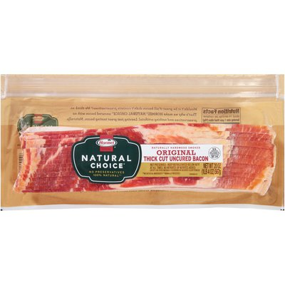 Hormel Original Thick Cut Uncured Bacon