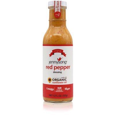 Jennysong Red Pepper Dressing, Organic Sunflower Oil, Vegan, Creamy