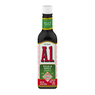 A1 Bold & Spicy Sauce with Tabasco