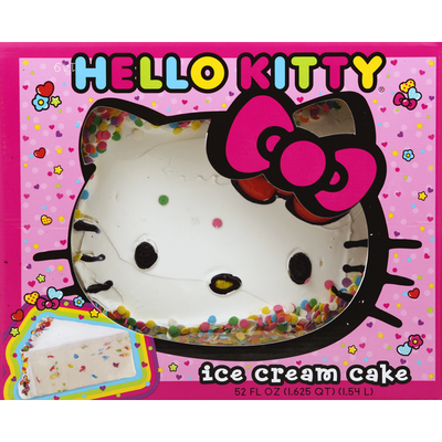 Hello Kitty Ice Cream Cake