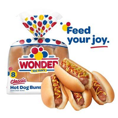 Wonder Bread Classic Hot Dog Buns