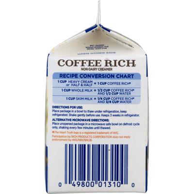 Rich's Coffee Rich Non-Dairy Creamer Original