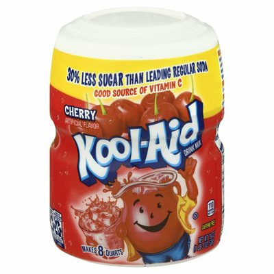 Kool-Aid Sugar-Sweetened Cherry Artificially Flavored Powdered Soft Drink Mix