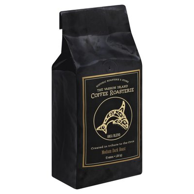 The Vashon Island Coffee Roasterie Coffee, Medium Dark Roast, Orca Blend