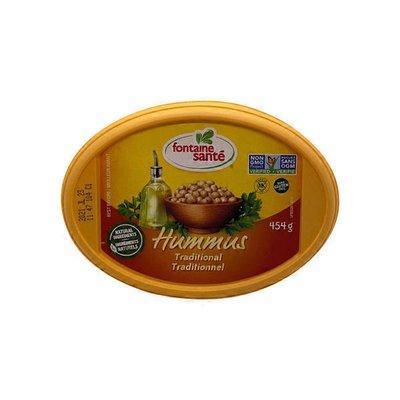Fontaine Sante Traditional Hummus
