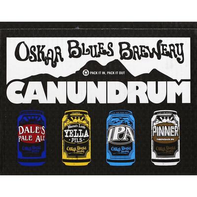 Oskar Blues Brewery Beer, Canundrum