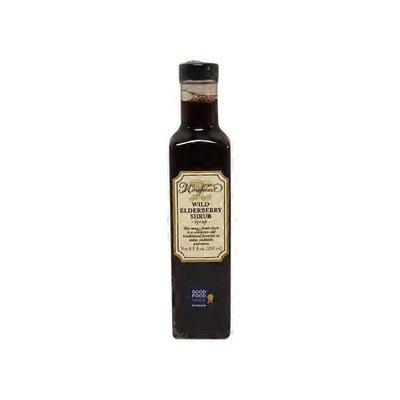 Wine Forest Wild Elderberry Shrub Syrup