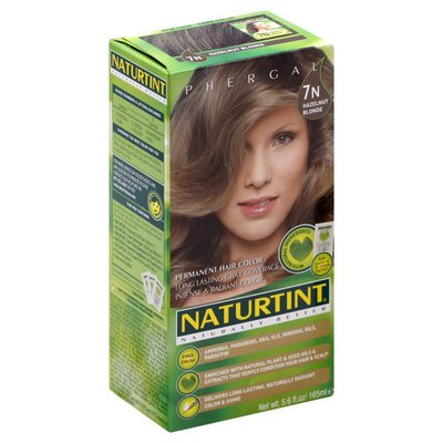Naturtint Hair Color, Permanent, Hazelnut Blonde 7N