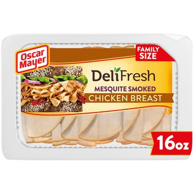 Oscar Mayer Mesquite Smoked Chicken Breast Sliced Lunch Meat Family Size