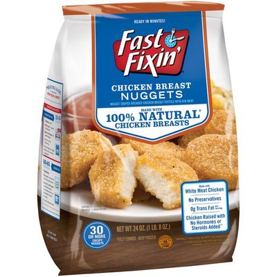 Fast Fixin Chicken Breast Nuggets