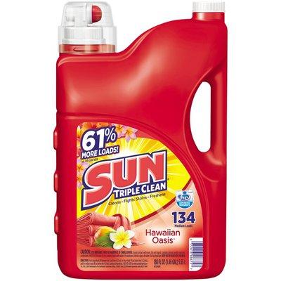 Sun Triple Clean Hawaiian Oasis Laundry Detergent
