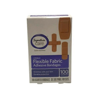 Signature Care Flexible Fabric Bandages