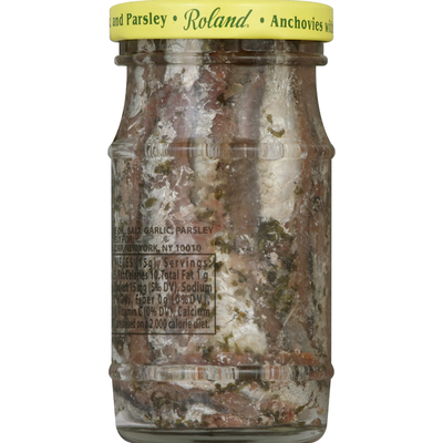 Roland Foods Anchovies, with Garlic and Parsley