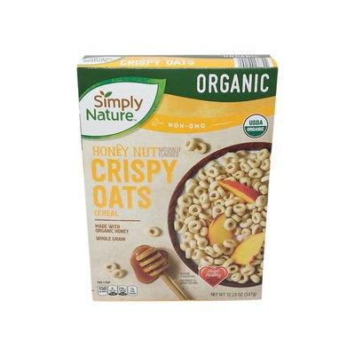 Simply Nature Organic Honey Nut Crispy Oats Cereal