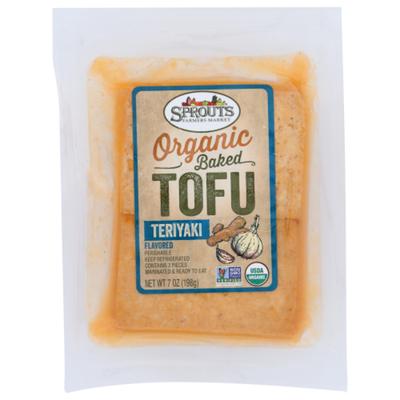 Sprouts Organic Teriyaki Baked Tofu