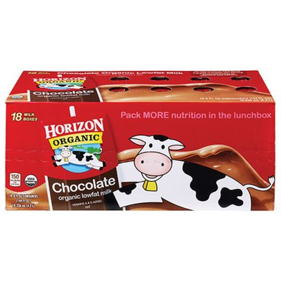 Horizon Organic 1% Lowfat UHT Chocolate Milk