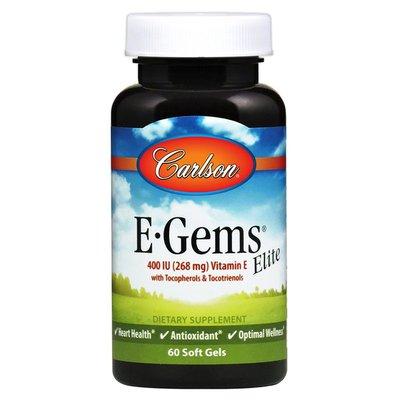 Carlson Labs E-Gems Elite 400 IU