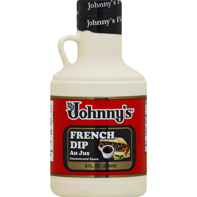 Johnny's Au Jus Sauce, French Dip, Concentrated