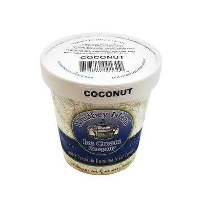 Whidbey Island Ice Cream Coconut  Ice Cream