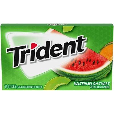 Trident Watermelon Twist Sugar Free Gum
