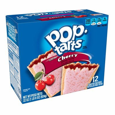 Kellogg's Pop-Tarts Toaster Pastries, Breakfast Foods, Baked in the USA, Frosted Cherry