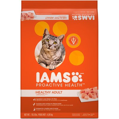 IAMS Cat Food, Original with Chicken, Adult 1-6 Years