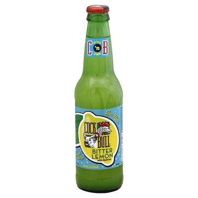 Cock N Bull Soda, Sparkling, Bitter Lemon, Original