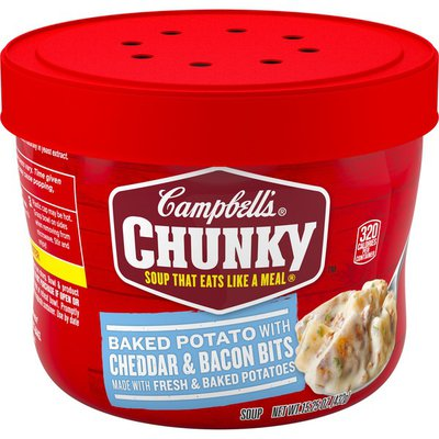 Campbell's® Baked Potato with Cheddar & Bacon Bits Soup