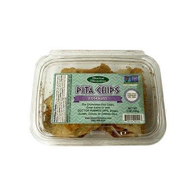 Doctor Hummus Rosemary Pita Chips