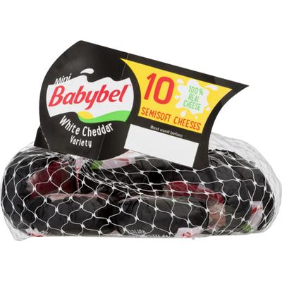 Babybel White Cheddar Variety Semisoft Cheeses