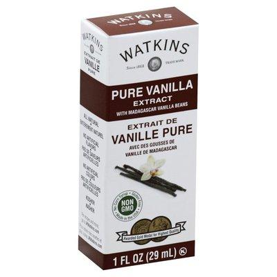 Watkins Vanilla Extract, Pure, with Madagascar Vanilla Beans