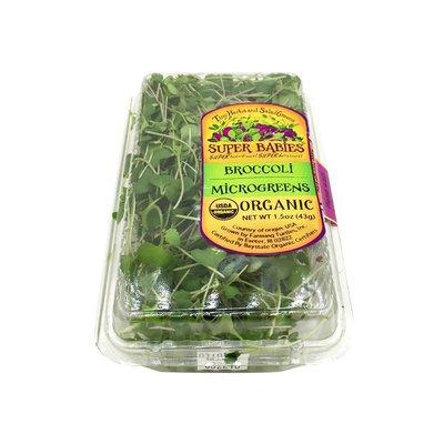 Organic Baby Broccoli