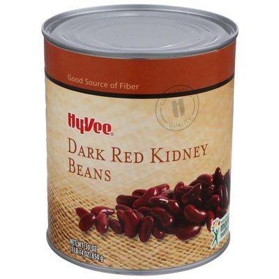 Hy-Vee Dark Red Kidney Beans