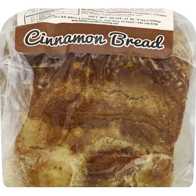 BB Bakery Bread, Cinnamon