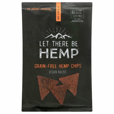 Let There Be Hemp Hemp Chips, Grain-Free, Vegan Nacho
