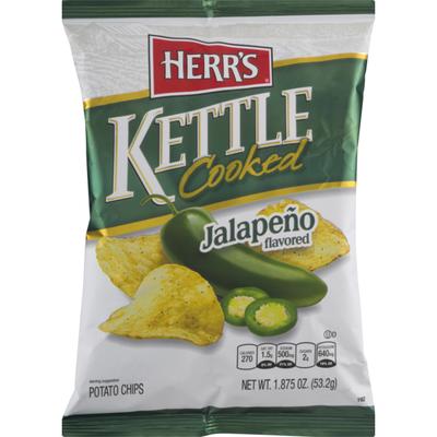 Herr's Kettle Cooked Jalapeno Potato Chips