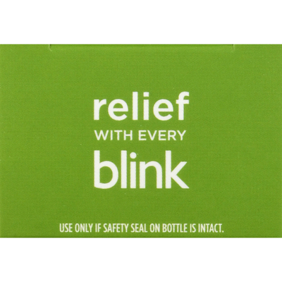 Blink Eye Drops, Lubricating, Dry Contacts
