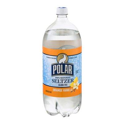 Polar Calorie-Free Seltzer Orange Vanilla