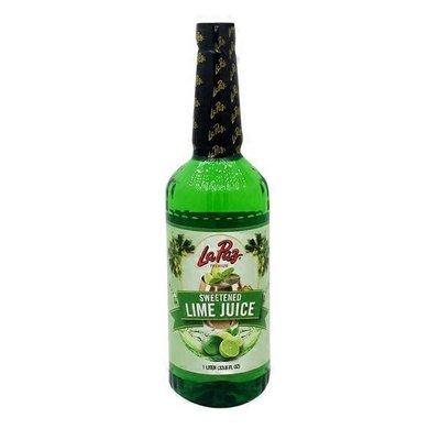 La Paz Sweetened Lime Juice