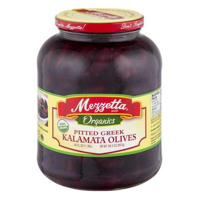Mezzetta Organics Pitted Greek Olives Kalamata