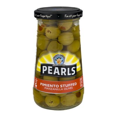 Pearls Olives, Manzanilla, Pimiento Stuffed