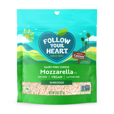 Follow Your Heart Dairy-Free Mozzarella Shredded