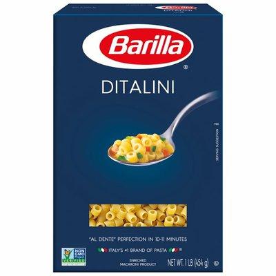 Barilla® Classic Blue Box Soup Pasta Ditalini
