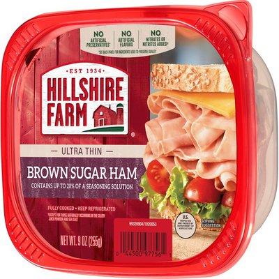 Hillshire Farm Ultra Thin Sliced Brown Sugar Ham Deli Meat