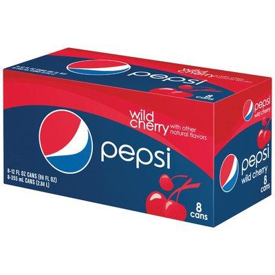 Pepsi Wild Cherry 2x4 Cola