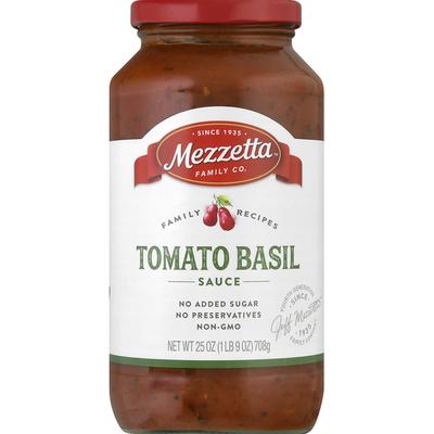 Mezzetta Sauce, Tomato Basil
