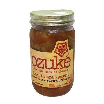 Ozuké Napa & Garlic Kimchi